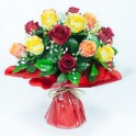 BOUQUET BULLE H36 DM37 ROUGE